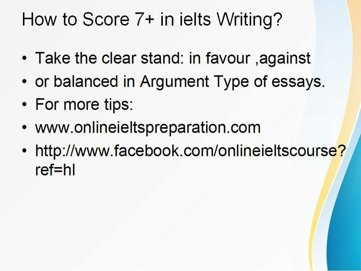 Ielts exam tips writing a thesis