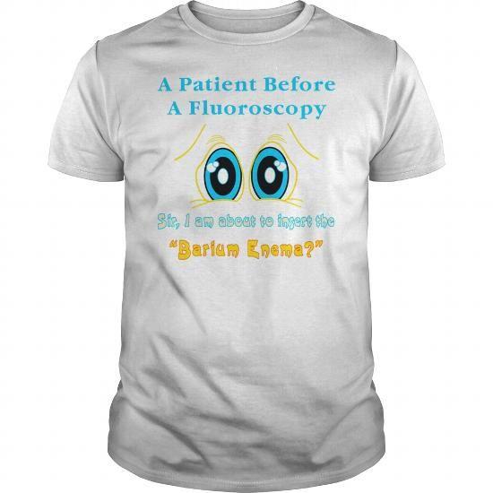 Patient And A Barium Enema