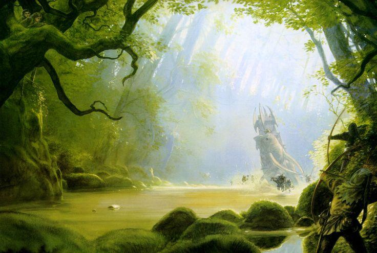 La belleza natural y la sombra de la guerra
