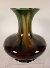 1920's Flemish Classic BELGIUM Faiencerie Thulin Studio Art Pottery Vase