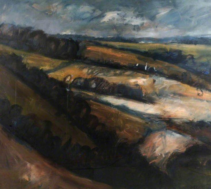 North from Butser Hill III, December 1994 Annabel Gault