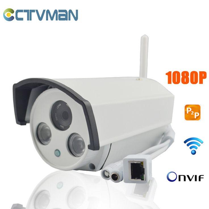 CCTVMAN IP Camera 1080P Full HD 2 Megapixel IR LED Array Camaras De Seguridad Outdoor Security Wireless Kamera Security IP Cam #Affiliate