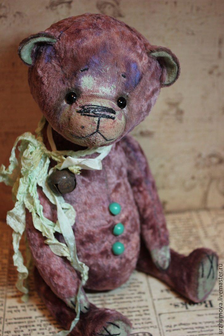Мишки Тедди ручной работы. Ярмарка Мастеров - ручная работа. Купить Мармелад. Handmade. Мишка, мишка в подарок, ленты шёлковые