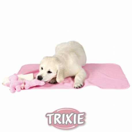 JUEGO CACHORROS ROSA,Es un juego de manta, toalla y 2 peluchitos para cachorro en color rosa. http://bit.ly/1QaXFdZ