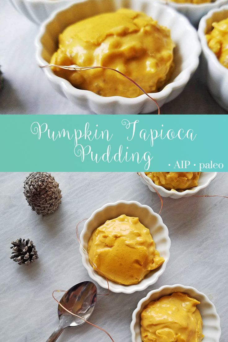 Pumpkin Tapioca Pudding   Real Food & Love