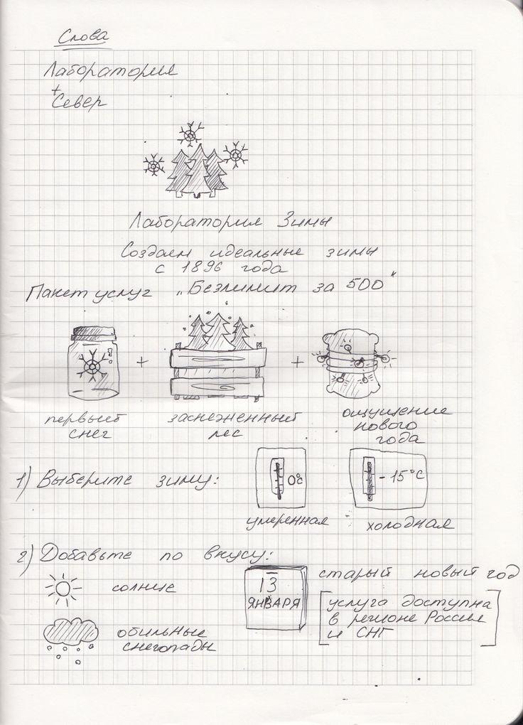 Бренд №2 - Лаборатория зимы (лаборатория+север)