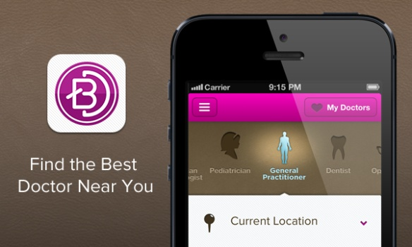 Find the best doctor near you via BetterDoctor app
