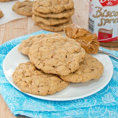 Biscoff Oatmeal Cookies Recipe (Sweet Peas KItchen)
