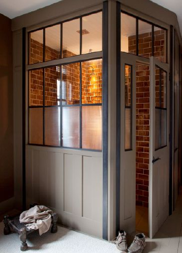 Bespoke Handmade Screens 5. Love This for a built in quiet room within a larger room.