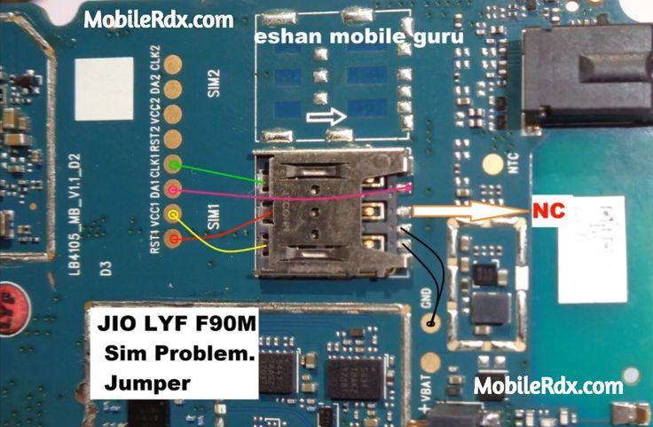 Lyf jio f90m sim card ways sim not working problem