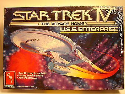 Star Trek 49211: 1986 Amt Ertl Sealed Star Trek V Uss Enterprise The Voyage Home. -> BUY IT NOW ONLY: $99.99 on eBay!