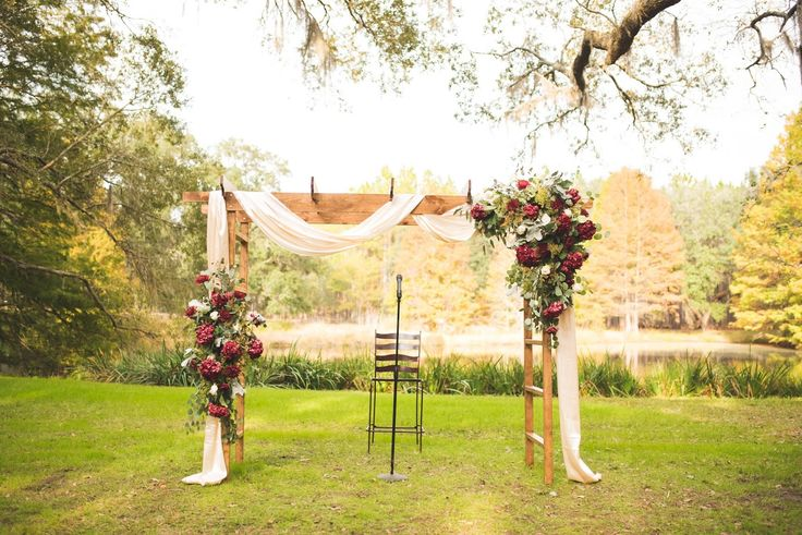 Best 25+ Rustic Wedding Arbors Ideas On Pinterest