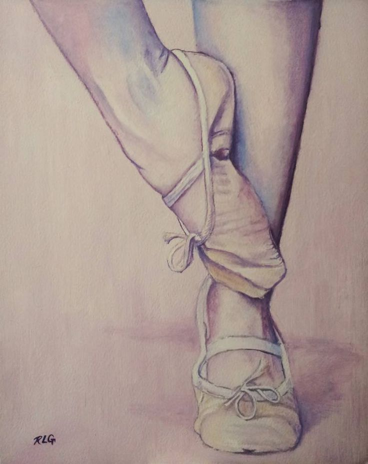 "Saatchi Art Artist Ruth Goring; Painting, ""Ballerina 35"" #art"
