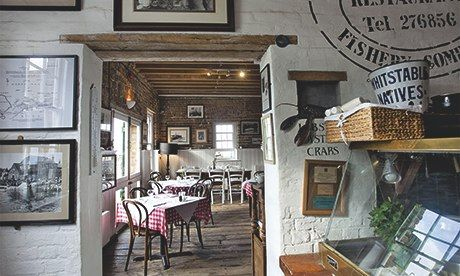 Restaurant: Royal Native Oyster Stores, Whitstable, Kent