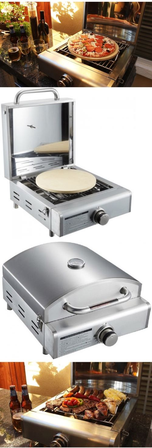 Camping Ovens 181387: Mont Alpi Portable Propane 3-In-1 Pizza Oven Grill -> BUY IT NOW ONLY: $301.99 on eBay!