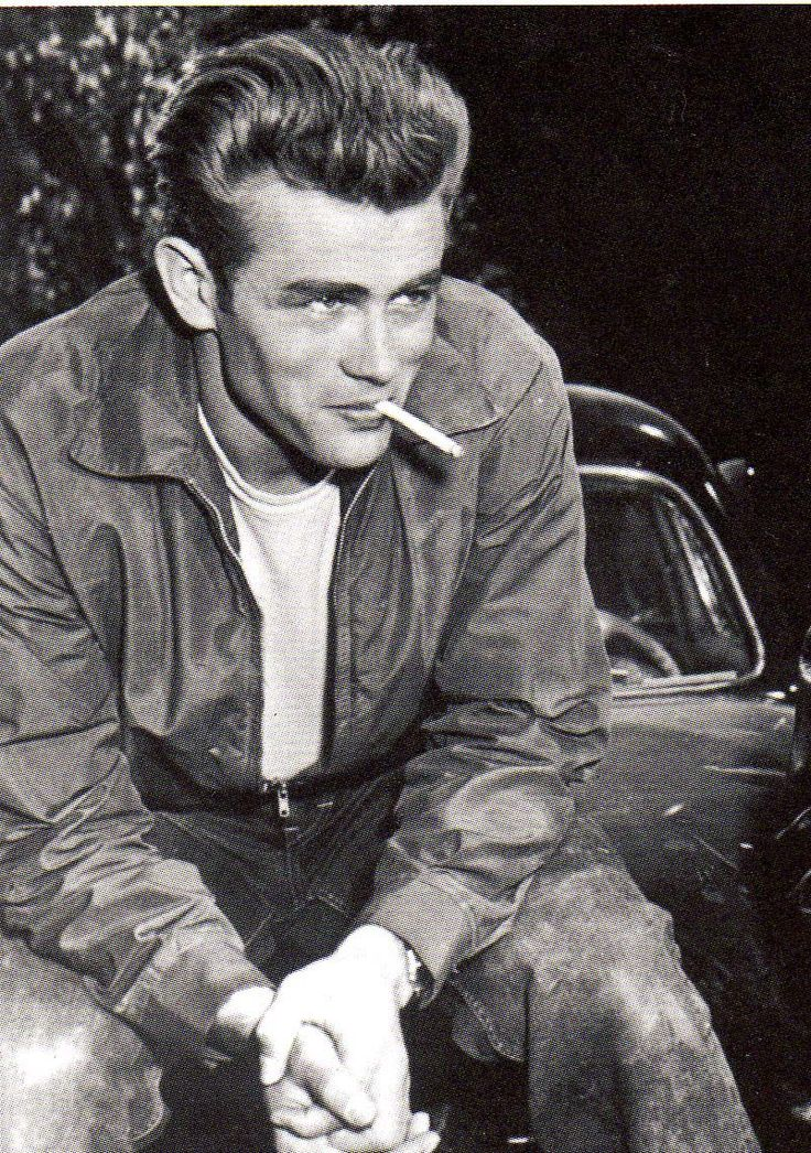 james dean. tragic. only 4 movies before his death. not good enough.