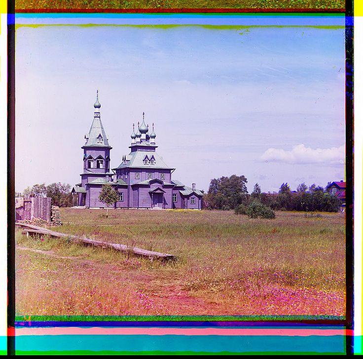 [Nikol'skaia [St. Nicholas] Church in Lavrovo (?), Shlissel'burg County, St. Petersburg Province, Russian Empire] (LOC) | Flickr - Photo Sharing!