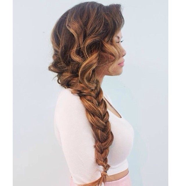 Terrific 1000 Ideas About Curly Braided Hairstyles On Pinterest Short Hairstyles Gunalazisus