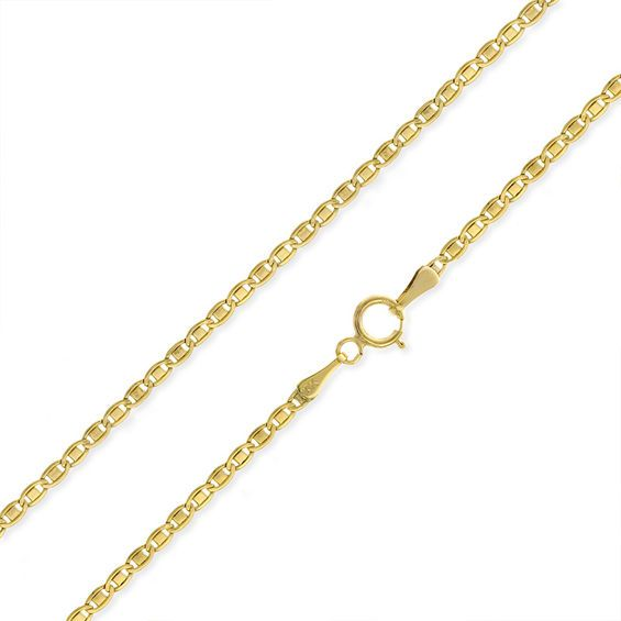 040 Gauge Valentino Chain Necklace In 10k Gold 20 Gold Fashion Necklace Chain