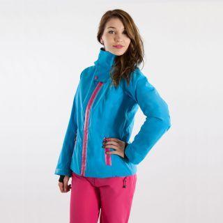 #carlabikini Veste de ski technique #Watts Femme Juice Bleu