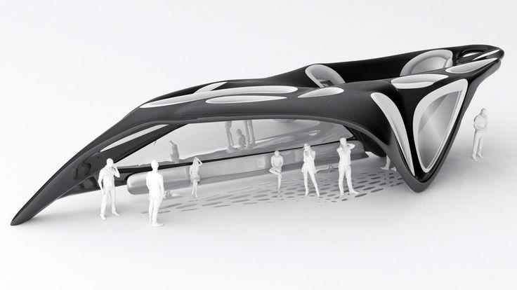 + BUS Stop Design Concept   #StudentWork