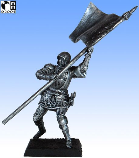 Mindstalkers: soldiers generic for factions of Milan and Venice.  Standard Bearer without sword