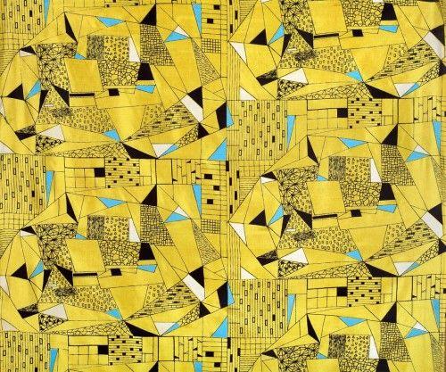 Polish textile, Anna Orzechowska, 1956
