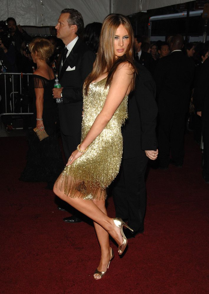 Ivanka And Melania Trump From Partying To The Republican Party Trump Fashion Flapper Inspired Dress First Lady Melania Trump