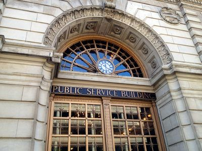 Urban spelunking: Public Service Building
