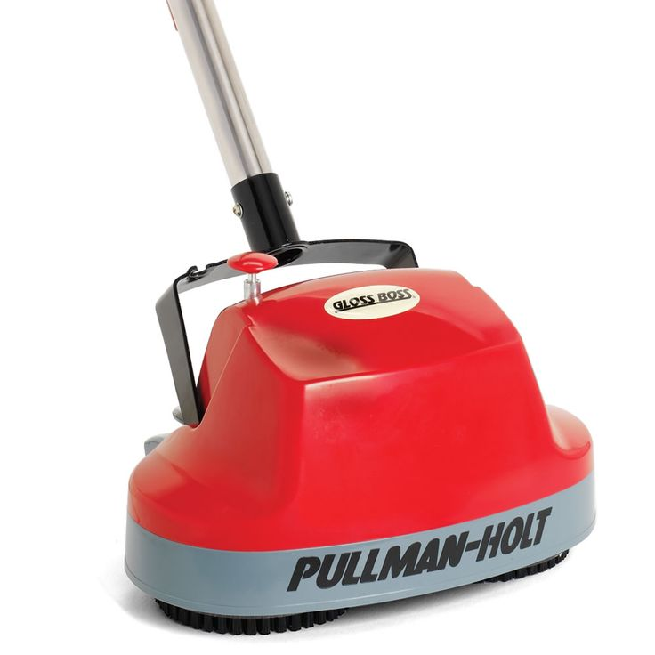 The Home Floor Scrubber / Polisher - Hammacher Schlemmer - This home floor cleaner scrubs and polishes any hard surface floor or carpet with a commercial machine's vigor, yet is easily controlled with one hand.
