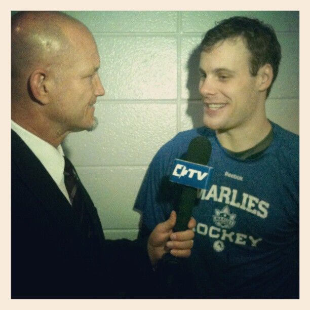 All smiles! All-Star Game MVP Ryan Hamilton speaks to LeafsTV following the game.