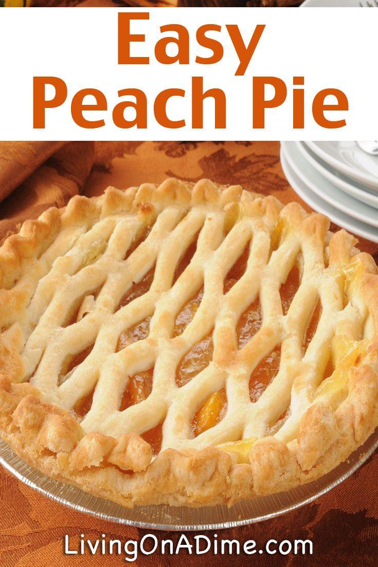 20 Of The Best Ever Homemade Pie Recipes Best Peach Pie Recipe