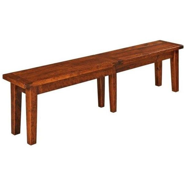 Benson Plank Top Extendable Bench ($641) ❤ liked on Polyvore featuring home, furniture, benches, handmade furniture, colored storage boxes, woods furniture, hand made furniture and expandable furniture