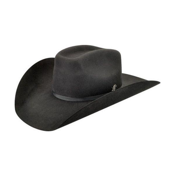 Men's Bailey Western Murphy II Cowboy Hat ($72) ❤ liked on Polyvore featuring men's fashion, men's accessories, men's hats, black, mens wool hats, men's brimmed hats, mens hats and mens cowboy hats