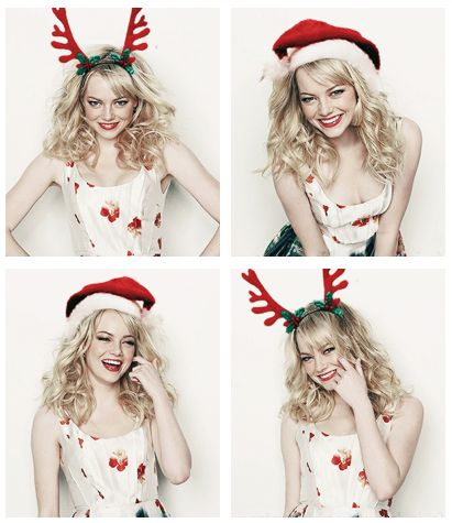 Emma Stone Merry Christmas