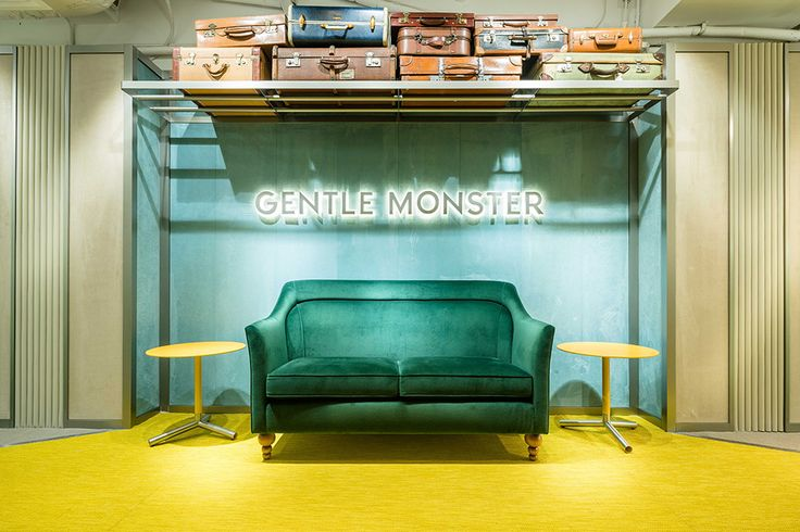 "GENTLE MONSTER STORE, Causeway Bay, Hong Kong, ""Emotional Baggage"", pinned by Ton van der Veer"