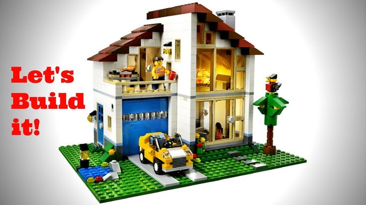 LEGO CREATOR 31012 FAMILY HOME REVIEW Stop Animation Speed Build