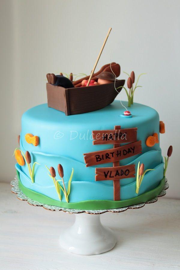 Best  Fisherman Cake Ideas On Pinterest Fishing Cakes - Boat birthday cake ideas