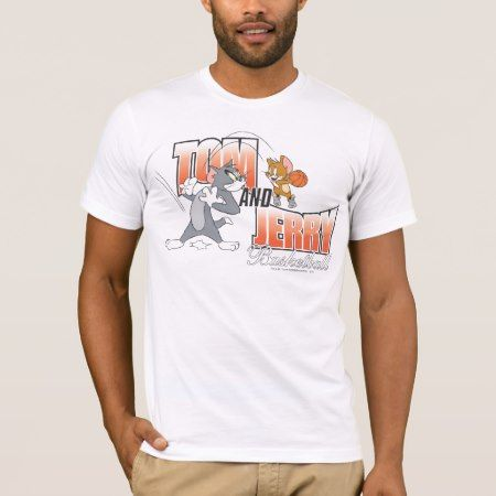Tom and Jerry Basketball 3 T-Shirt - click to get yours right now!