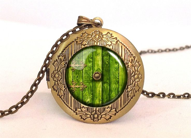 Lord of the Rings, HOBBIT DOOR Locket, 0332LPB from EgginEgg by DaWanda.com