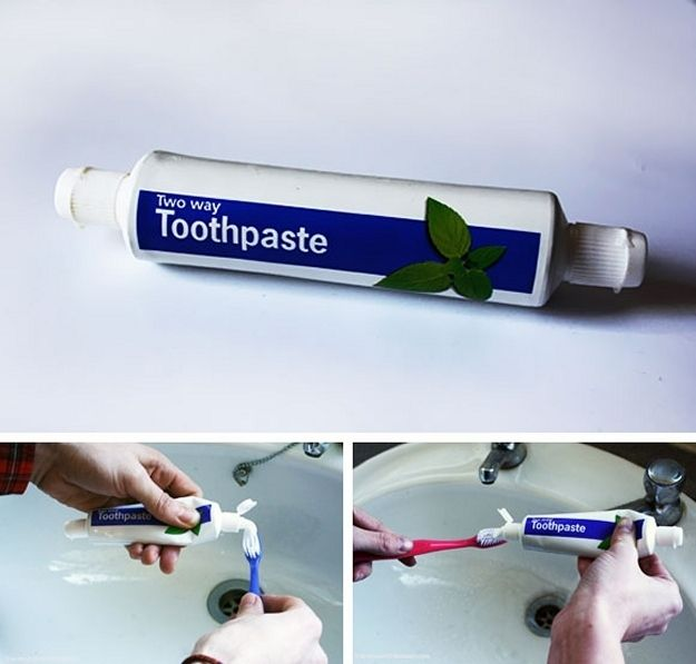 Two-Way Toothpaste | 20 Odd Inventions That Might Secretly BeAwesome