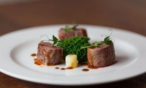 Groupon - Two-Course Meal with a Glass of Prosecco for Two or Four at Darwin's Restaurant at 4* The George Hotel (Up to 53% Off) in Lichfield. Groupon deal price: £29