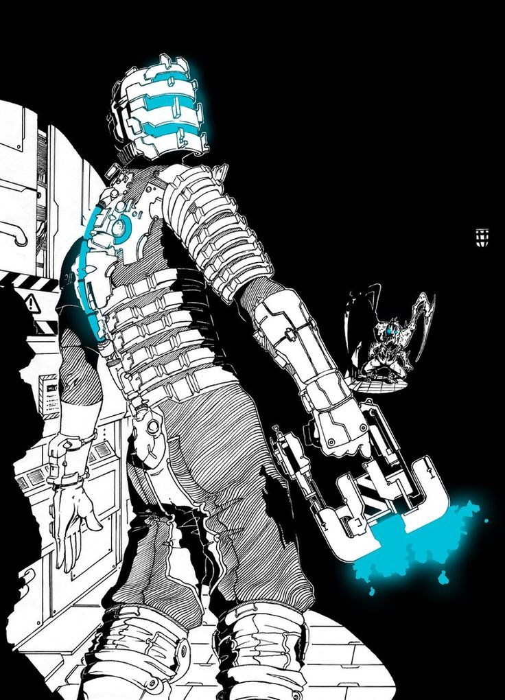 dead space fan art | dead space and the dead of the mushroom kingdom together
