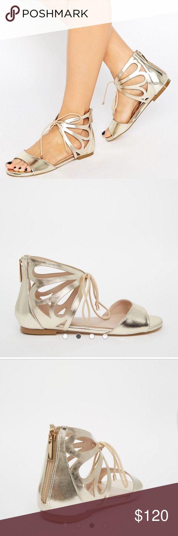 ASOS Carvela Bali Ankle Tie Flat Sandals ASOS Carvela Bali Ankle Tie Flat Sandals ASOS Shoes