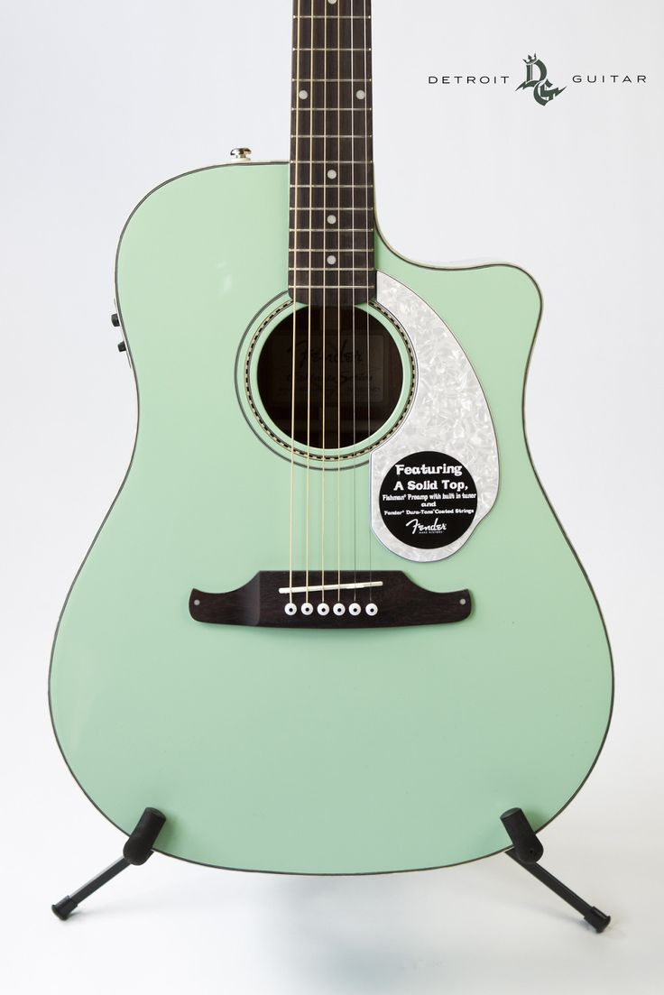 Brand New Fender Sonoran SCE Surf Green | Reverb