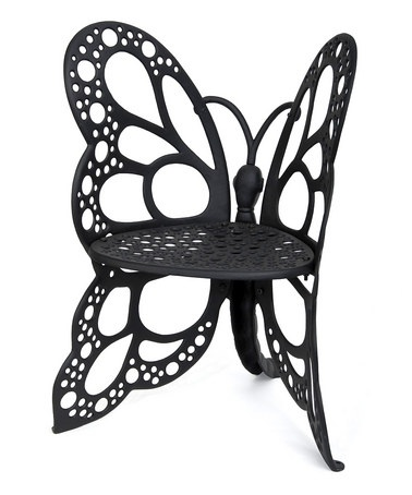 Take A Look At This Flowerhouse Black Butterfly Chair By
