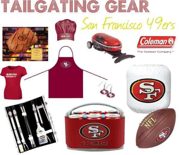 San Francisco 49ers Tailgating Gear