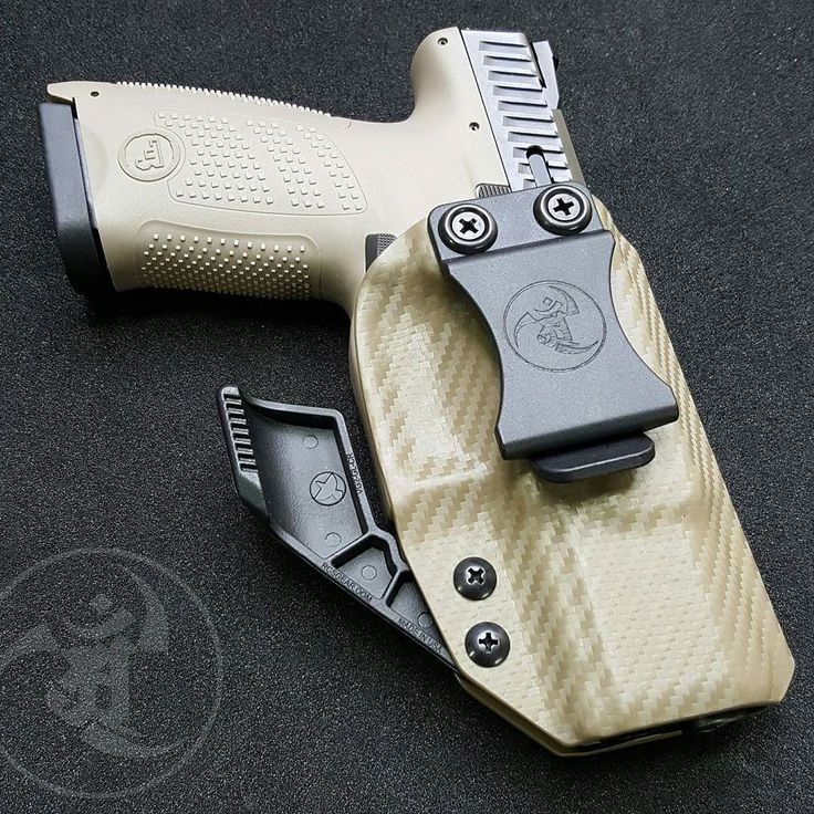 CZ P10C AIWB with RCS CLAW. CF FDE print kydex. Flossy!  #alexandryandesign  Alexandryandesign.com