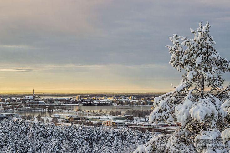 Första snön, Luleå