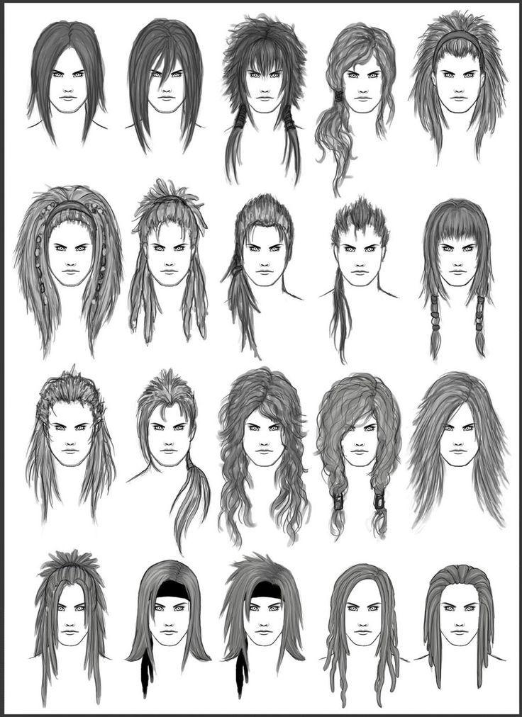 Fc07 Deviantart N Deviantart New Long Hair Drawing Hair Sketch Manga Hair